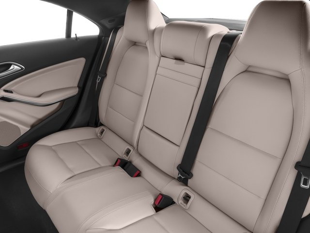 2018 Mercedes-Benz CLA Pictures CLA CLA 250 4MATIC Coupe photos backseat interior