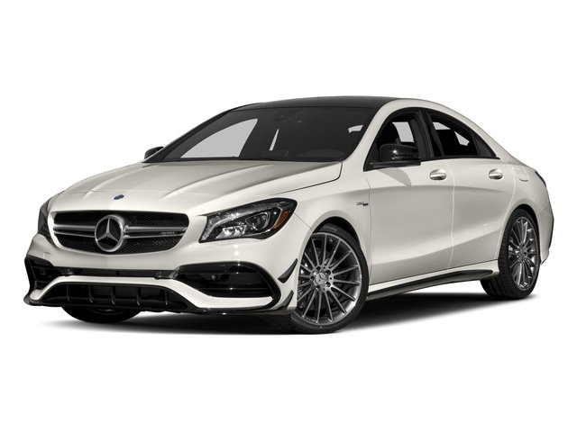 2018 Mercedes-Benz CLA Pictures CLA AMG CLA 45 4MATIC Coupe photos side front view