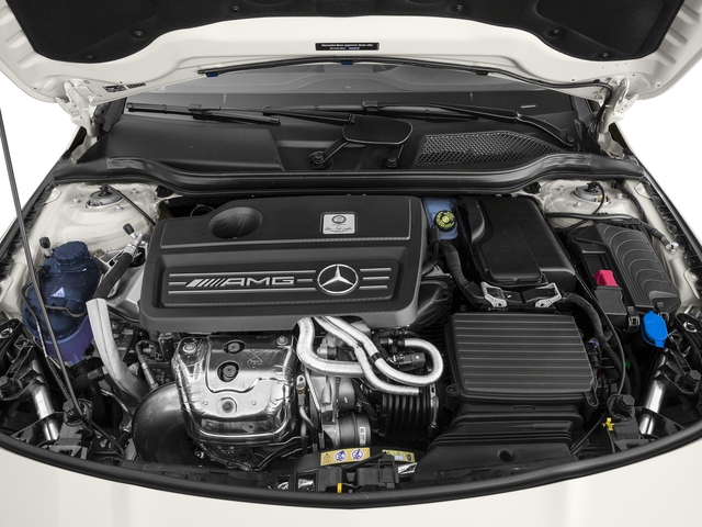 2018 Mercedes-Benz CLA Pictures CLA AMG CLA 45 4MATIC Coupe photos engine