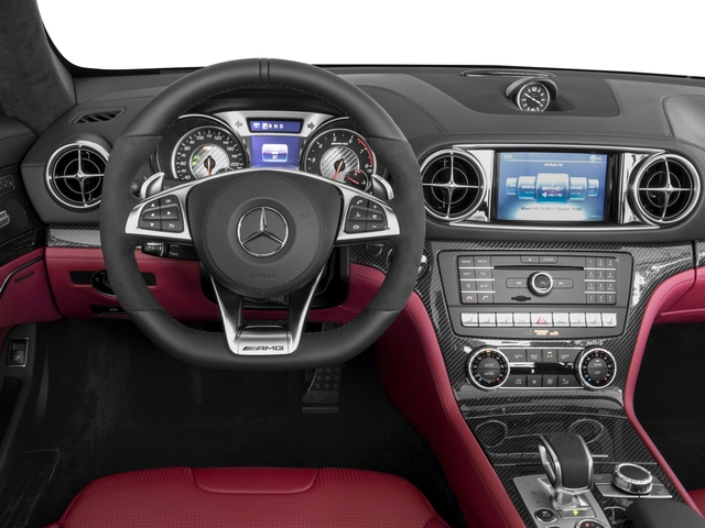 2018 Mercedes-Benz SL Base Price AMG SL 63 Roadster Pricing driver's dashboard