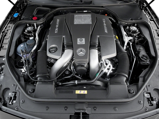 2018 Mercedes-Benz SL Prices and Values Roadster 2D SL63 AMG V8 Turbo engine
