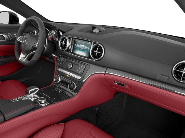 2018 Mercedes-Benz SL Prices and Values Roadster 2D SL63 AMG V8 Turbo passenger's dashboard