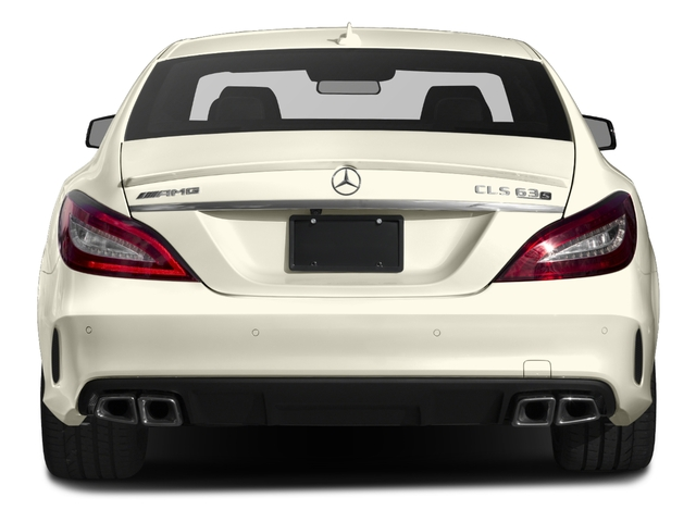 2018 Mercedes-Benz CLS Pictures CLS AMG CLS 63 S 4MATIC Coupe photos rear view