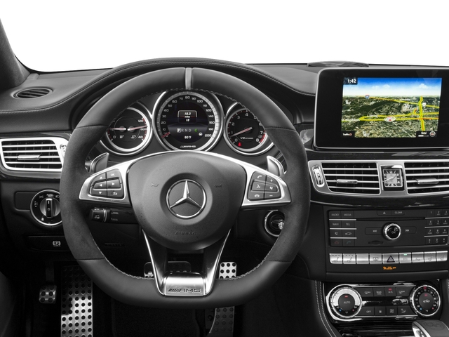 2018 Mercedes-Benz CLS Base Price AMG CLS 63 S 4MATIC Coupe Pricing driver's dashboard