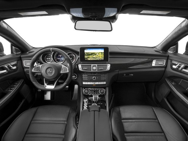 2018 Mercedes-Benz CLS Pictures CLS AMG CLS 63 S 4MATIC Coupe photos full dashboard