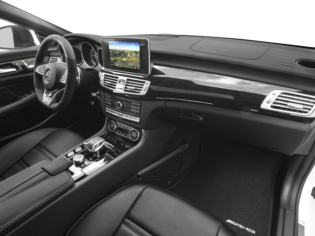 2018 Mercedes-Benz CLS Pictures CLS AMG CLS 63 S 4MATIC Coupe photos passenger's dashboard