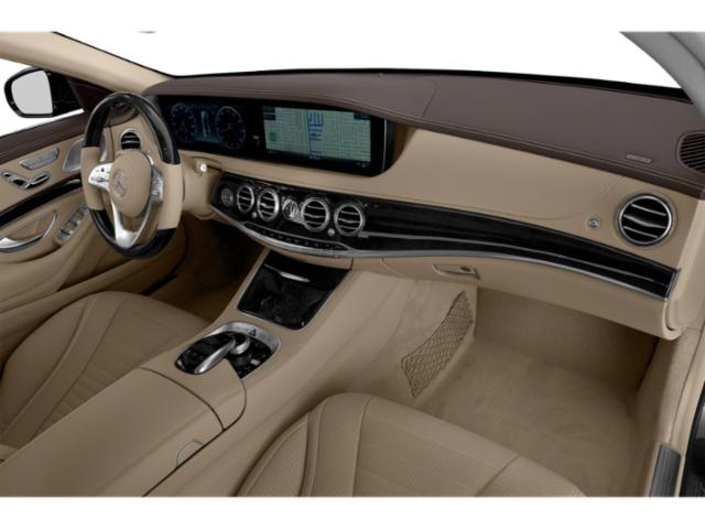 2018 Mercedes-Benz S-Class Base Price S 560 4MATIC Coupe Pricing passenger's dashboard