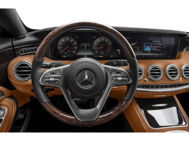 2018 Mercedes-Benz S-Class Base Price S 560 4MATIC Coupe Pricing driver's dashboard