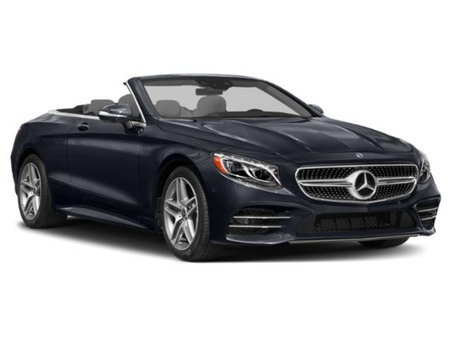 2018 Mercedes-Benz S-Class Pictures S-Class Convertible 2D S560 photos side front view