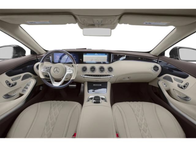 2018 Mercedes-Benz S-Class Base Price S 560 4MATIC Coupe Pricing full dashboard