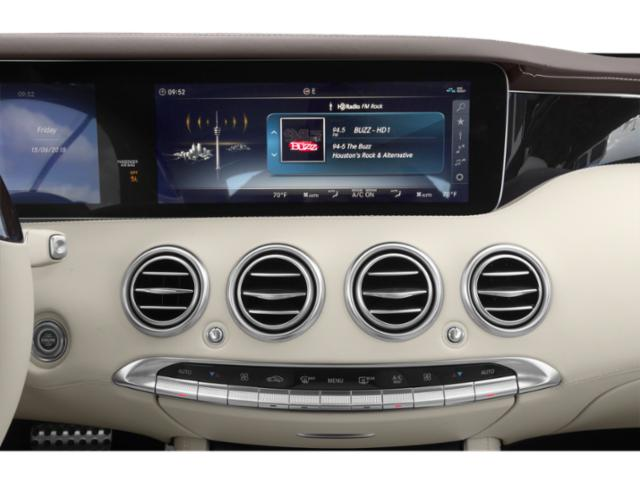 2018 Mercedes-Benz S-Class Base Price S 560 4MATIC Coupe Pricing stereo system