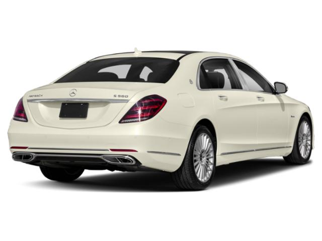 2018 Mercedes-Benz S-Class Base Price Maybach S 560 4MATIC Sedan Pricing side rear view