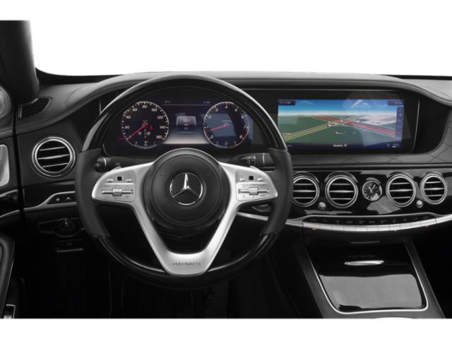 2018 Mercedes-Benz S-Class Base Price Maybach S 560 4MATIC Sedan Pricing driver's dashboard