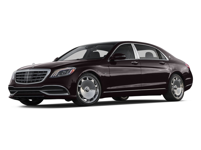2018 Mercedes-Benz S-Class Pictures S-Class Maybach S 650 Sedan photos side front view