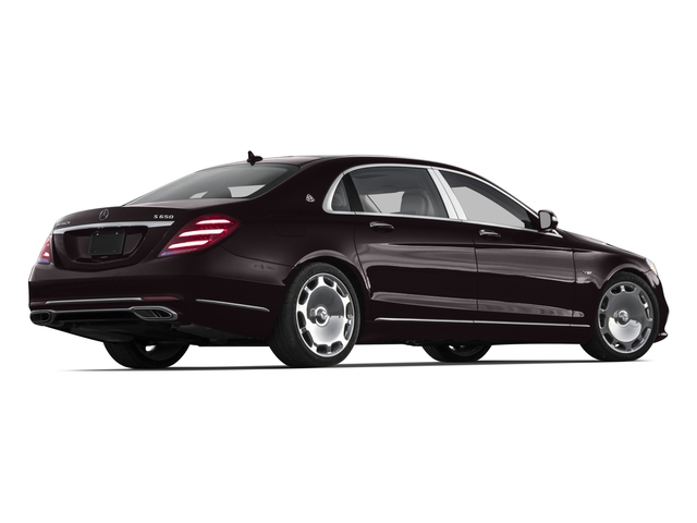 2018 Mercedes-Benz S-Class Pictures S-Class Maybach S 650 Sedan photos side rear view