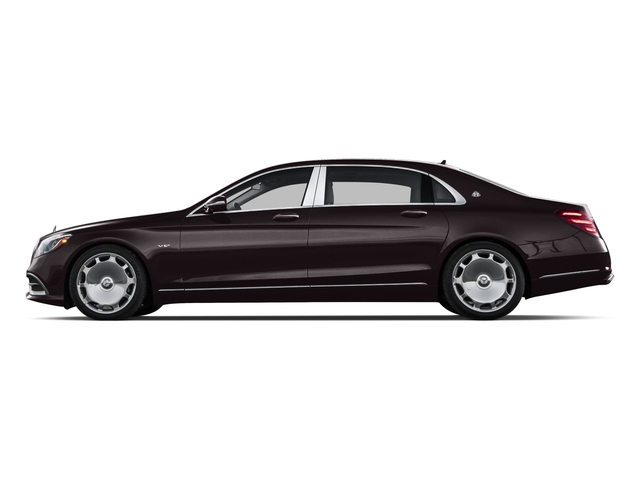 2018 Mercedes-Benz S-Class Pictures S-Class Maybach S 650 Sedan photos side view