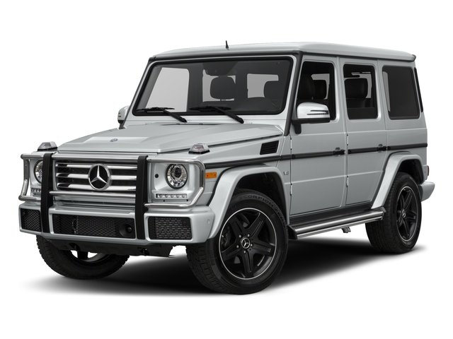 2018 Mercedes-Benz G-Class Base Price G 550 4MATIC SUV Pricing side front view