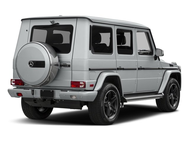 2018 Mercedes-Benz G-Class Base Price G 550 4MATIC SUV Pricing side rear view