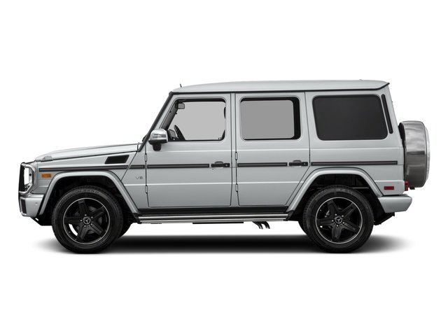 2018 Mercedes-Benz G-Class Base Price G 550 4MATIC SUV Pricing side view