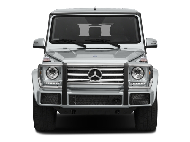2018 Mercedes-Benz G-Class Base Price G 550 4MATIC SUV Pricing front view