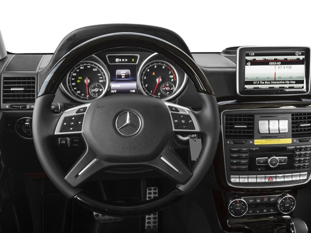 2018 Mercedes-Benz G-Class Base Price G 550 4MATIC SUV Pricing driver's dashboard