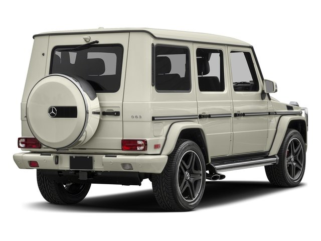 2018 Mercedes-Benz G-Class Base Price AMG G 63 4MATIC SUV Pricing side rear view
