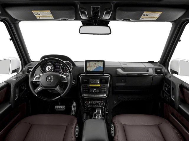 2018 Mercedes-Benz G-Class Base Price AMG G 63 4MATIC SUV Pricing full dashboard