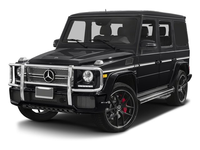 2018 Mercedes-Benz G-Class Base Price AMG G 65 4MATIC SUV Pricing side front view