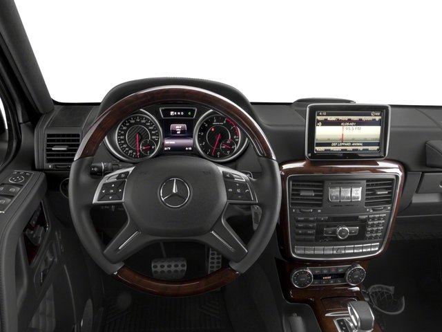 2018 Mercedes-Benz G-Class Base Price AMG G 65 4MATIC SUV Pricing driver's dashboard