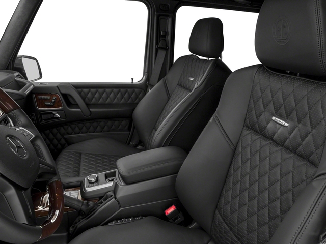 2018 Mercedes-Benz G-Class Base Price AMG G 65 4MATIC SUV Pricing front seat interior