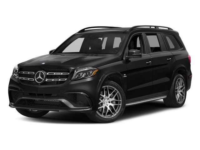 2018 Mercedes-Benz GLS Pictures GLS AMG GLS 63 4MATIC SUV photos side front view