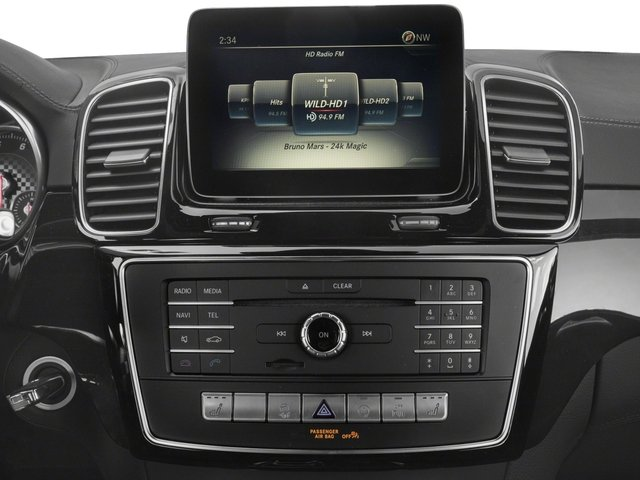 2018 Mercedes-Benz GLE Pictures GLE AMG GLE 43 4MATIC SUV photos stereo system