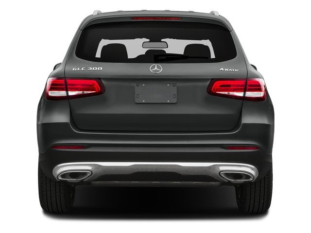 2018 Mercedes-Benz GLC Base Price GLC 300 SUV Pricing rear view