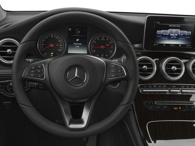2018 Mercedes-Benz GLC Base Price GLC 300 SUV Pricing driver's dashboard