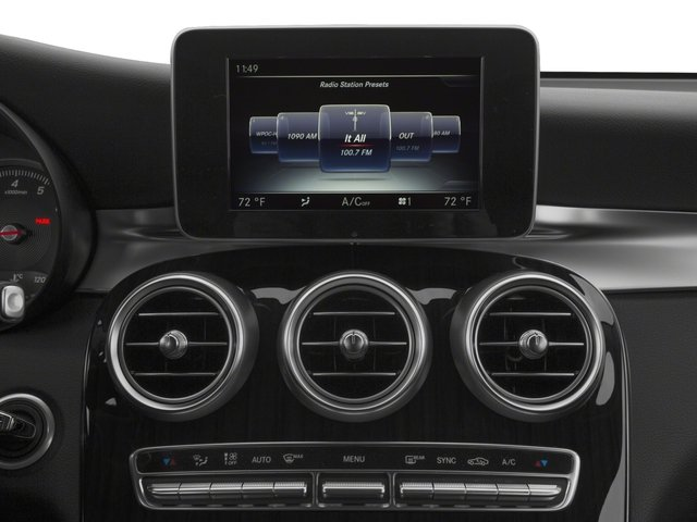 2018 Mercedes-Benz GLC Base Price GLC 300 SUV Pricing stereo system