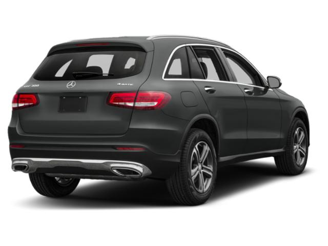2018 Mercedes-Benz GLC Base Price GLC 300 4MATIC SUV Pricing side rear view