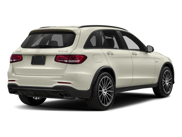 2018 Mercedes-Benz GLC Pictures GLC AMG GLC 43 4MATIC SUV photos side rear view