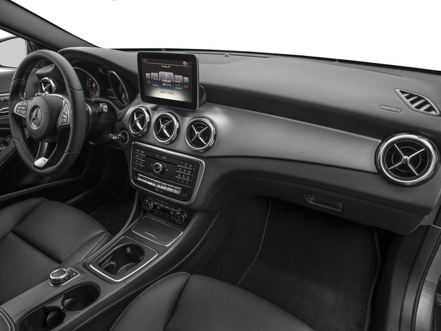 2018 Mercedes-Benz GLA Prices and Values Utility 4D GLA250 2WD I4 Turbo passenger's dashboard