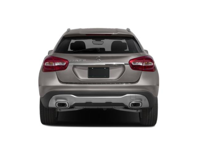 2018 Mercedes-Benz GLA Prices and Values Utility 4D GLA250 2WD I4 Turbo rear view