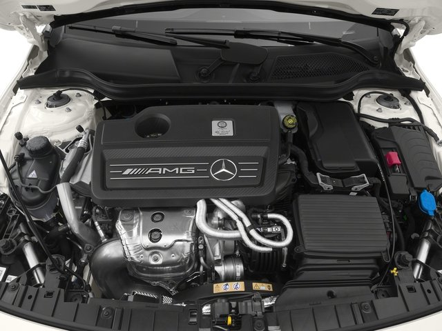 2018 Mercedes-Benz GLA Pictures GLA AMG GLA 45 4MATIC SUV photos engine