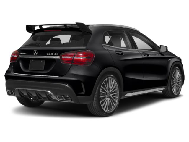 2018 Mercedes-Benz GLA Pictures GLA AMG GLA 45 4MATIC SUV photos side rear view