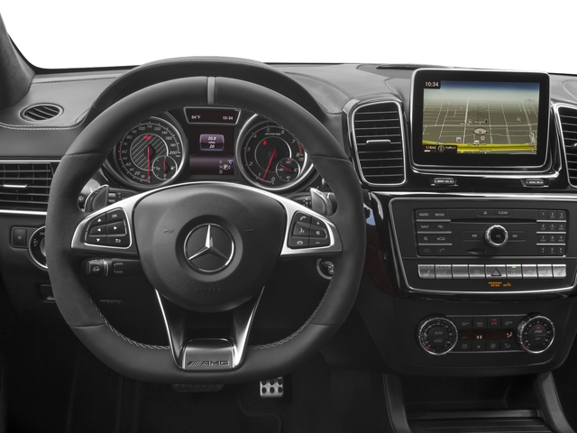2018 Mercedes-Benz GLE Base Price AMG GLE 63 4MATIC SUV Pricing driver's dashboard