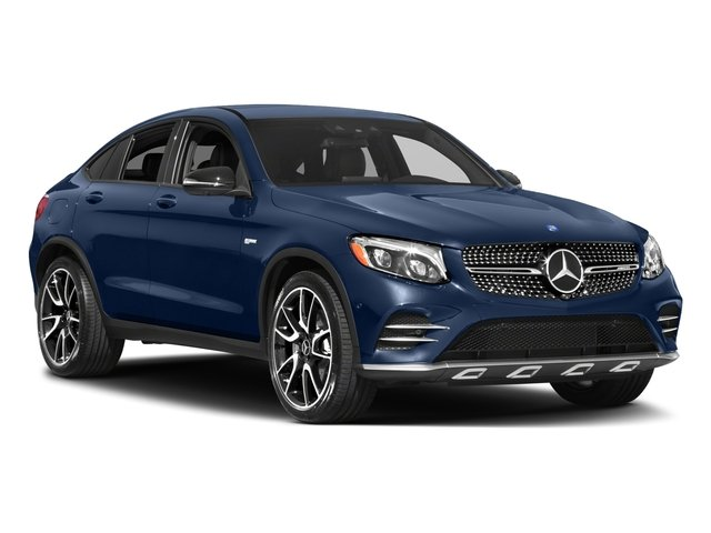 2018 Mercedes-Benz GLC Prices and Values Util 4D GLC43 AMG Sport Coupe AWD V6 side front view