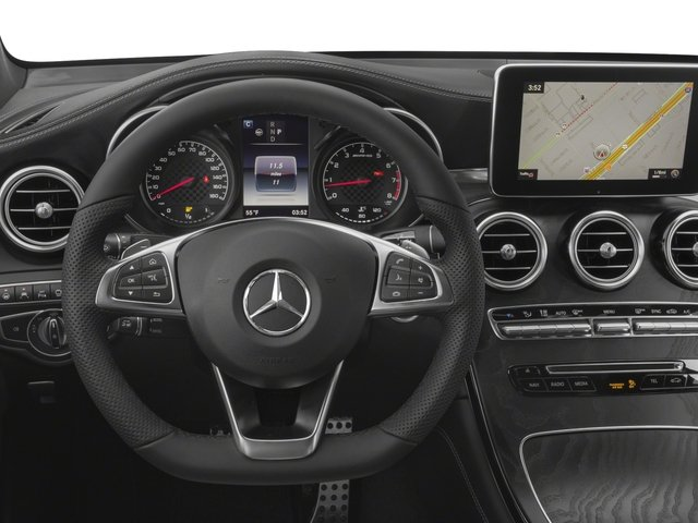 2018 Mercedes-Benz GLC Base Price AMG GLC 43 4MATIC Coupe Pricing driver's dashboard