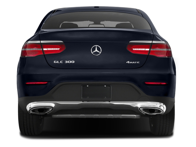 2018 Mercedes-Benz GLC Prices and Values Util 4D GLC300 Sport Coupe AWD I4 rear view