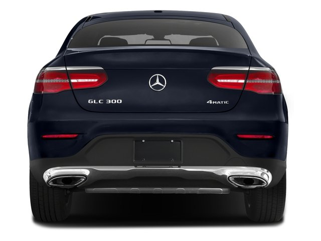 2018 Mercedes-Benz GLC Pictures GLC Util 4D GLC300 Sport Coupe AWD I4 photos rear view