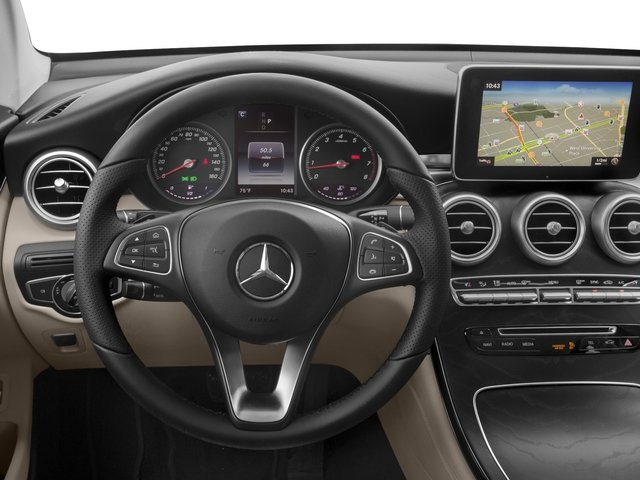 2018 Mercedes-Benz GLC Prices and Values Util 4D GLC300 Sport Coupe AWD I4 driver's dashboard