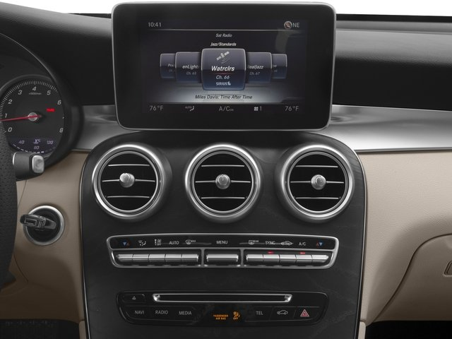 2018 Mercedes-Benz GLC Prices and Values Util 4D GLC300 Sport Coupe AWD I4 stereo system