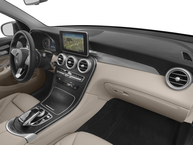 2018 Mercedes-Benz GLC Prices and Values Util 4D GLC300 Sport Coupe AWD I4 passenger's dashboard