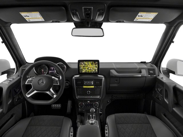 2018 Mercedes-Benz G-Class Pictures G-Class G 550 4x4 Squared SUV photos full dashboard